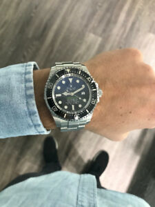 Rolex Sea-Dweller James Cameron Edition 44mm, Black x Blue Dial