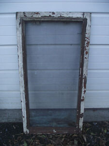 Antique Copper Wire Crackled Paint Screen Window