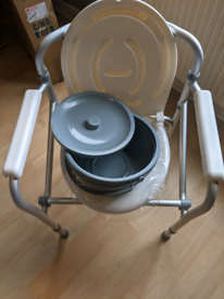 Gima folding commode chair
