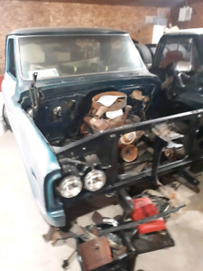 1971 GMC c10 wideside (shorty) Project truck Trades welcome