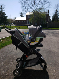Safety first stroller and car seat combo 100