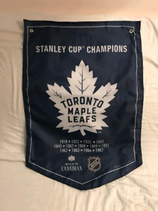 Toronto Maple Leafs Banner trade for Bruins Banner