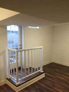 2 bedroom unit in new legal lower level with separate entry