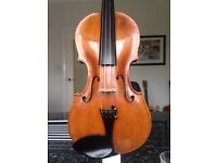 Rare violin by Michael Stadlmann 1787