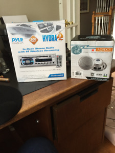 Pyle In-Dash Stereo Radio with BT Wireless Streaming