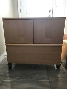 TV Table and Storage Unit