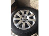 "Vw 15"" wheels 5x112 (not bbs,r32 or gti)"