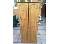 Solid pine wardrobe. Free delivery