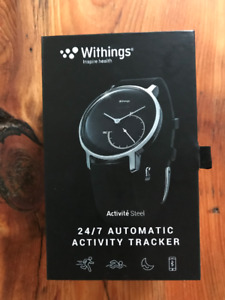 Montre d'activité Withings Steel - activity sports watch