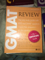 10 GMAT Books for Sale