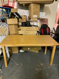 Wooden Dining Table only £50. Real Bargains Clearance Outlet Leicester