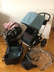 Bugaboo cameleon 3 stroller and Chico Keyfit30 car seat