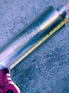 """BORLA XR-1.      3"""" stainless muffler"""