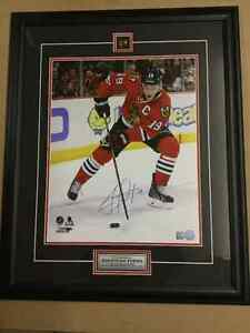 "Authentic Autographed Jonathan Towes 16""x 20"" in Large Frame"
