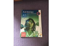 AS biology textbook AQA