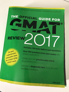 GMAT Review 2017 - Official Guide