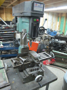 Drilling/Milling machine. King PDM 30. Very little use.