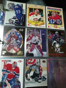 Collection de cartes hockey