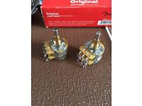 FENDER CTS STACK POTENTIOMETERS 60s Bass Type