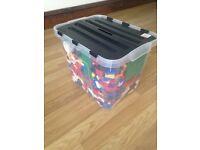 Lego box lot