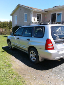 2004 Subrau Forester