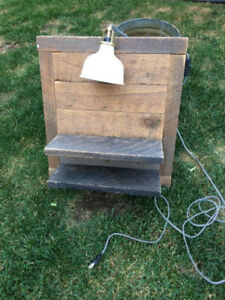 Custom Made Lamp/Shelf
