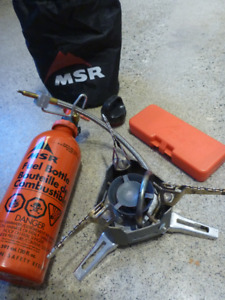 MSR XGK Expedition Stove bundle