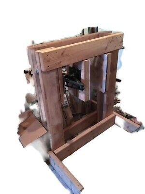 Drill Powered Honey Comb Crusher Extractor For Frameless Comb Not Included