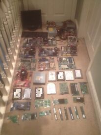 Tons of computer parts