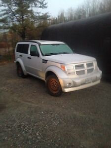 2008 dodge nitro r/t needs work