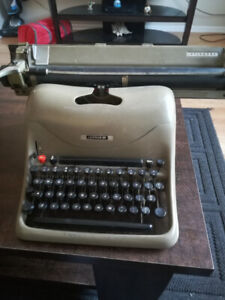 Vintage antique typewriter circa late 40's - early 50's.