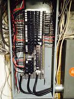 Electricien Shop ANGUS  POSE PANNEAU ÉLECTRIQUE  514 572-3869