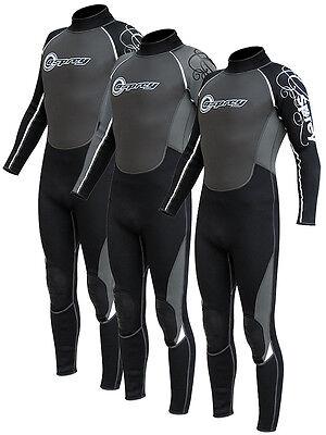 Mens OSPREY OSX Full Length Wetsuit Bodyboarding Surfing Kayaking Sailing Diving