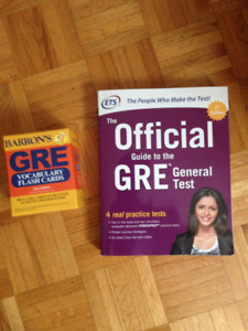 GRE books study material
