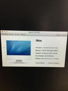 "iMac 20"" late 2006"