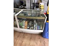 Retail glass display cabinets counter show case