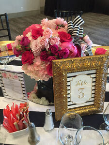 Personalized Table Numbers, Menus, Seating Charts