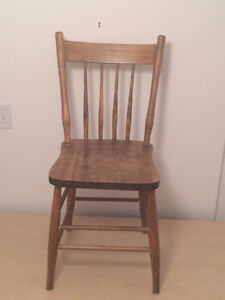 Lovely Old Wooden dining chairs Kingston Kingston Area image 1