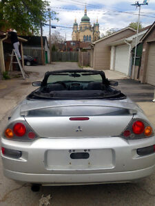 2003 Mitsubishi Eclipse Convertible 156Kms Etested $1600 Must Go