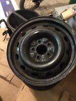 Jeep winter rims only 2