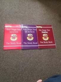 CGP Maths and Science Study Books