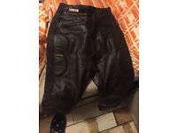 Ladies biker leathers