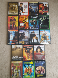 Range of classic DVD movies all in good condition and working order.