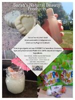 Sarah's Natural Beauty Products - Hand Made & Chemical Free