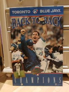 Blue Jay's Hard Mounted Posters