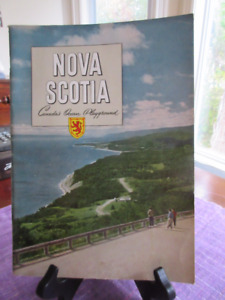 Vintage NOVA SCOTIA  Travel Brochure/Imperial Oil Review 1956
