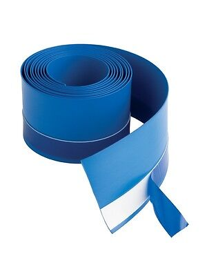 MX 3.8m Flexi Seal Strip - Waterproof Tape for Shower Tray & Bath Blue Upstand