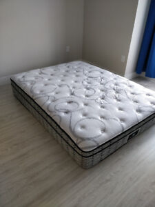 """Queen Mattress (Sealy) """"ALMOST NEW"""" - pickup 29 Apr"""