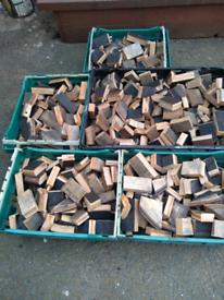 100%Genuine Oak Whiskey Barrel Chunks BBQ Smoking Wood Chunks