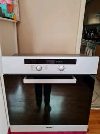 Miele multifunction single electric oven built-in aluminium 60cm